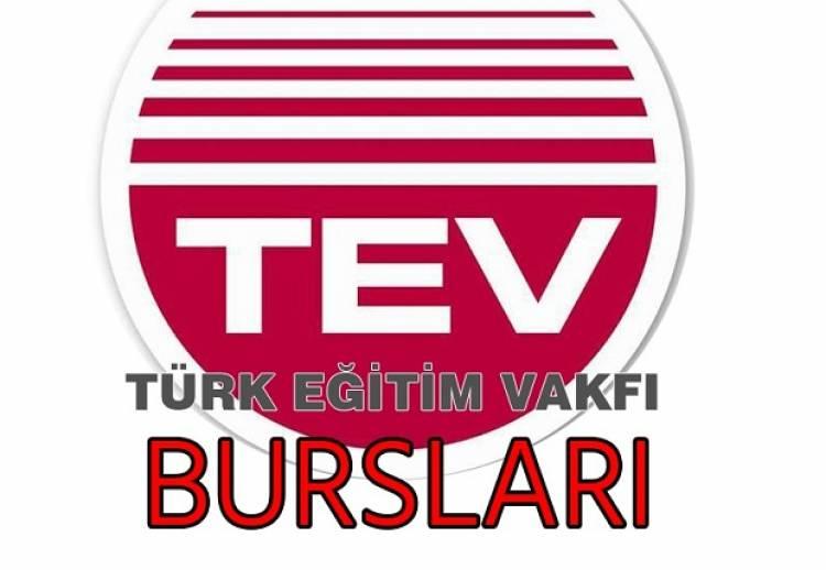 Türk Eğitim Vakfı (TEV) Bursu Hakkında